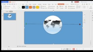 Make world animation in WPS
